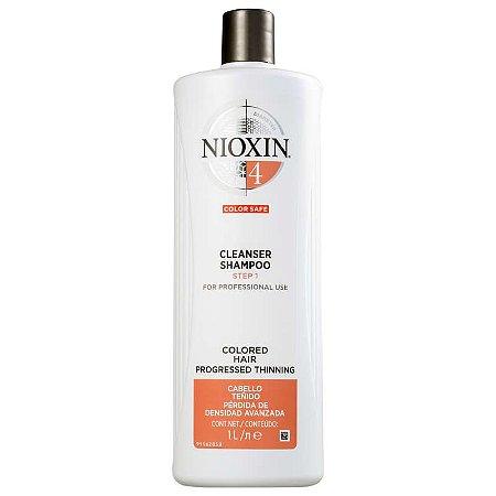 Nioxin System 4 Cleanser - Shampoo 1000ml