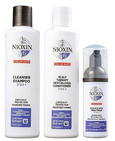 Kit Nioxin System 6 Small (3 Produtos)