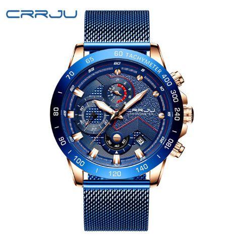 Relógio CRRJU Preto 2280 Masculino