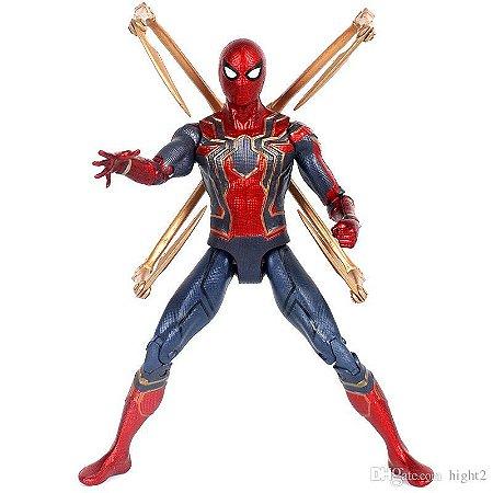 Boneco Homem Aranha Guerra infinita Action Figures