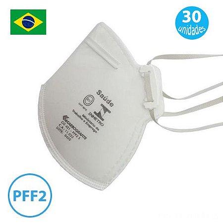 Mascara PFF2 Equivalente a N95 Descartável Pacote com 30 Mascaras