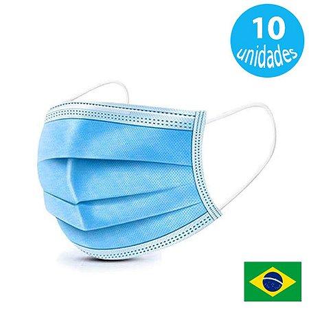 Mascara Descartavel Antivirus Pacote com 10 Mascaras