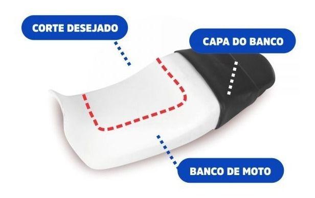 Almofada Gel Banco Moto 25x25x2cm Espessura Ortho Pauher