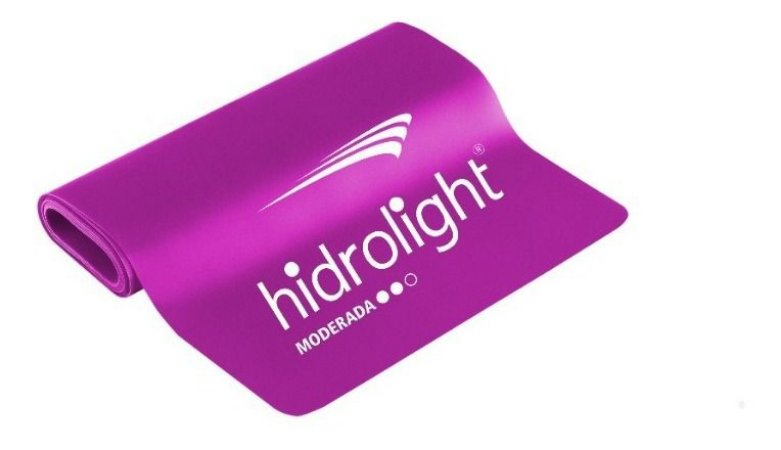 Faixa Elastica Medio 1,52mts Tipo Theraband Hidrolight