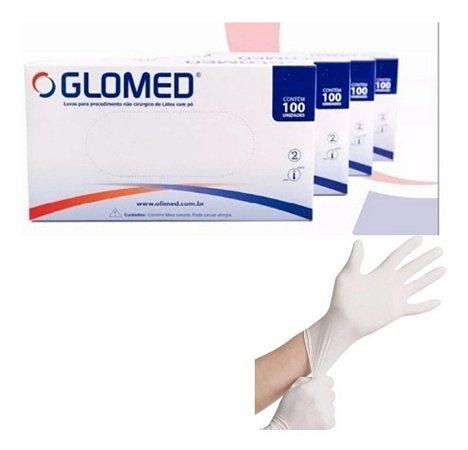Luva Para Procedimento Latex C/ Po Top Glove