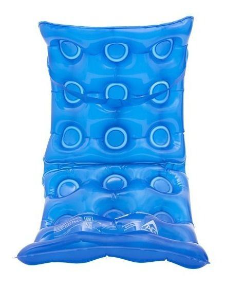 Almofada Anti Escaras Assento Agua Encosto Inflavel