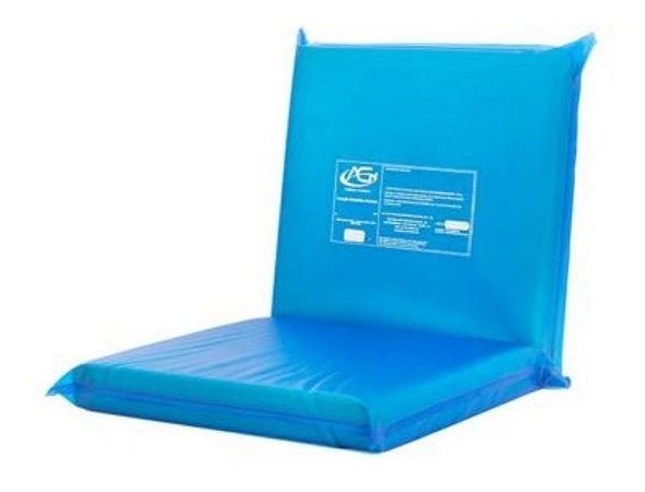 Almofada C/ Assento Estofado Anti Escaras Cadeira De Rodas