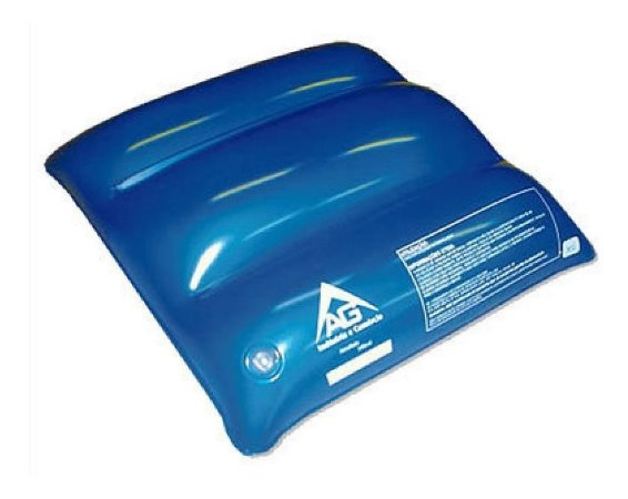 Almofada Ortopedica Anti Escaras Quadrada Agua