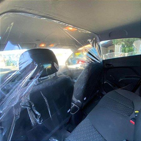 Protetor Cortina Contra Virus P/ Carros Uber Taxi 99