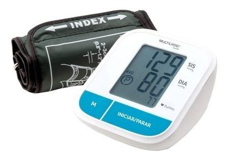 Aparelho Monitor De Pressão Arterial De Braço Multilaser