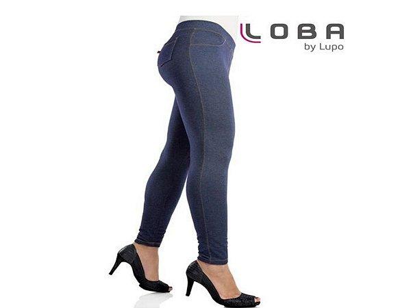 Calça Legging Jeans Loba Com Elastano Lupo
