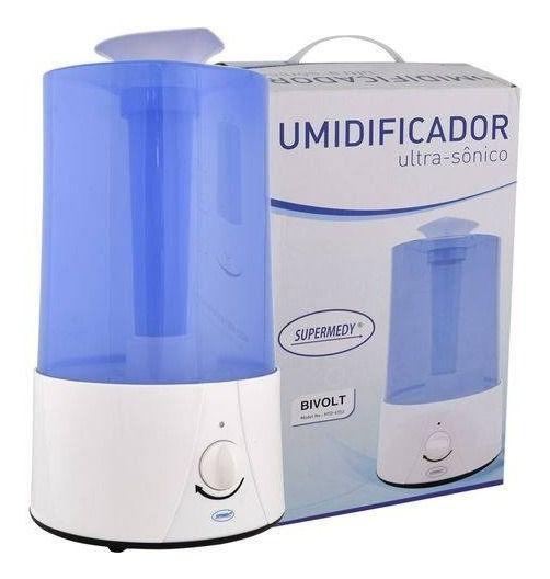 Umidificador Ultrasonico 3,2l Supermedy