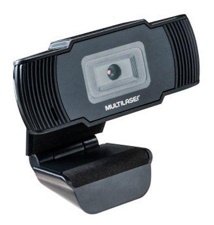 Webcam Microfone Integrado 720p Video Hd Multilaser