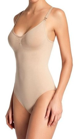 Body Modelador Loba Slim S/ Costura Alça Destacável 7150