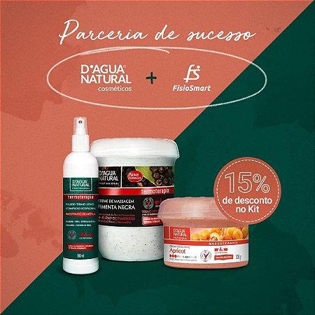 CREME PIMENTA NEGRA + FLUIDO + ESFOLIANTE 300G - Kit Especial