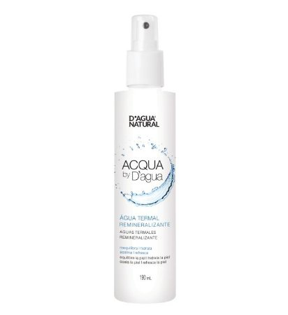 ACQUA BY D'AGUA ÁGUA TERMAL REMINERALIZANTE