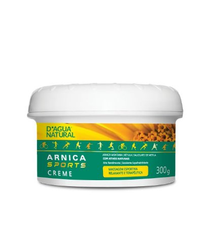 CREME MASSAGEM ARNICA SPORTS 300G - D AGUA NATURAL