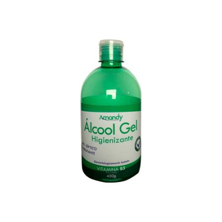Alcool em Gel 70% Com Hidratante e Vitamina B5 500ml