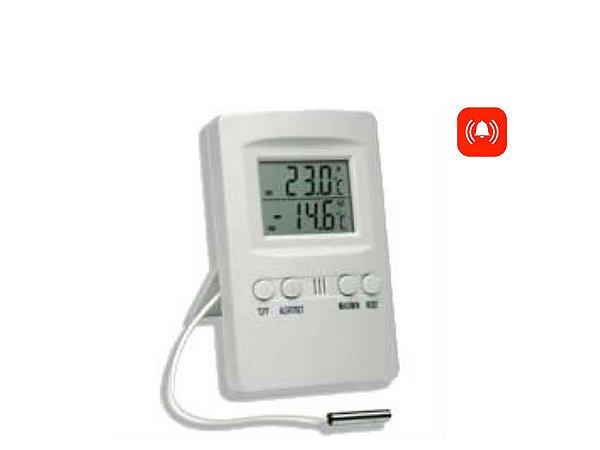 Termômetro Digital Maxima Minima Externo E Interno C/ Alarme