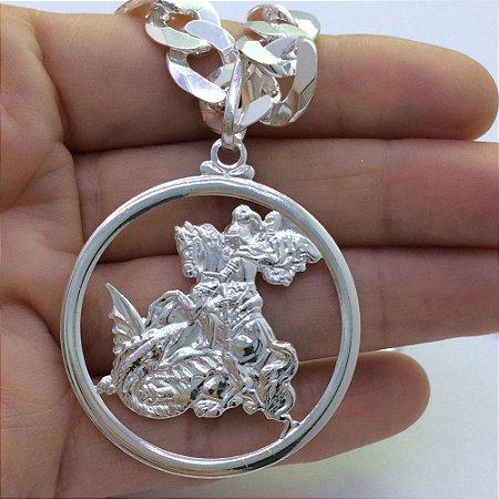 pingente são jorge 2746 - 4cm x 4cm
