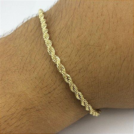 pulseira cordão baiano 3mm