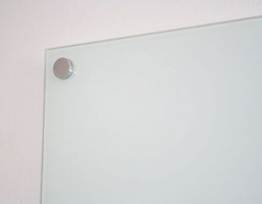 Quadro Branco Magnético de Vidro Temperado 5mm
