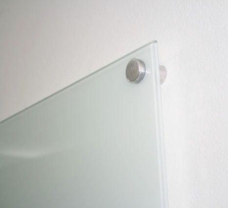 Quadro Branco Magnético de Vidro Temperado 6mm