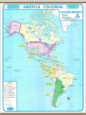Mapa Histórico América Colonial