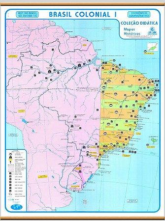 Mapa Brasil Colonial I