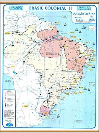 Mapa Brasil Colonial II