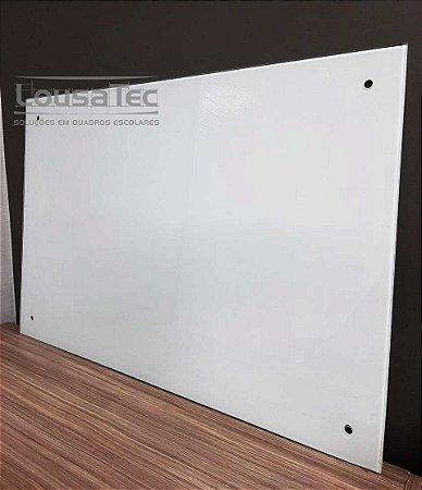 Quadro Branco Quadriculado de Vidro Temperado 5mm