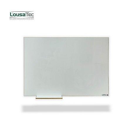 Quadro Branco Liso Reto - Lousa Melamínica - Borda Arredondada em MDF