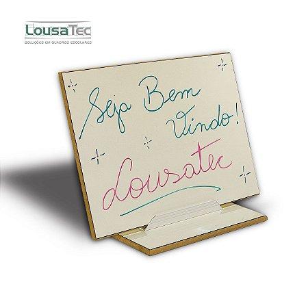 Placa de Mensagem Lousa LT - Branca Lisa