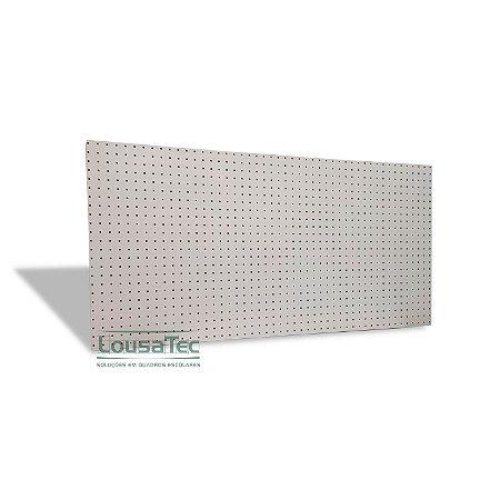 Painel Pegboard Branco - 120x60 - C/ 08 Ganchos 10cm