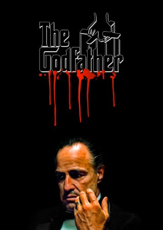 Quadro Decorativo The GodFather - FS0002