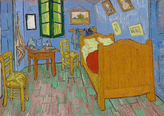 Quadro Decorativo Van Gogh The Bedroom - PT0008