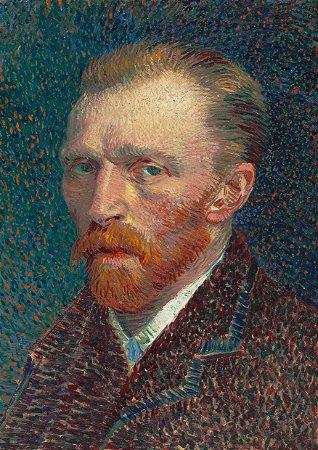 Quadro Decorativo Van Gogh Self Portrait - PT0010