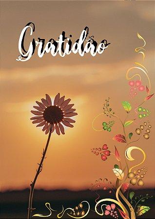 Quadro Decorativo Gratidão - FM0002