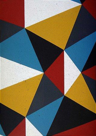 Quadro Decorativo Abstrato Vivo - AB0005