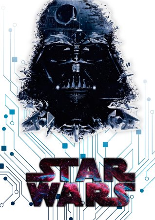 Quadro Decorativo Star Wars - FS0004