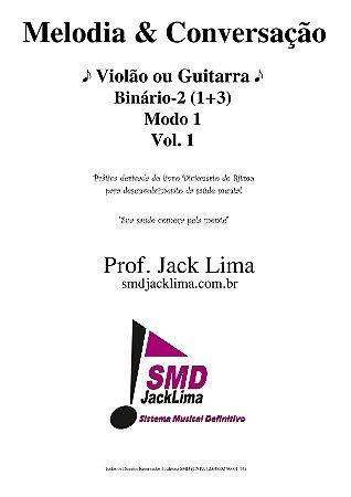 Melodia & Conversação | Violão ou Guitarra vol. 1