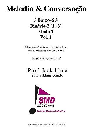Melodia & Conversação | Baixo-6 vol. 1