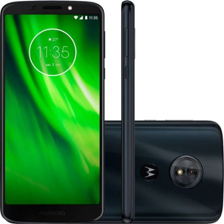 "Smartphone Motorola Moto G6 Play Dual Chip Android Oreo - 8.0 Tela 5.7"""