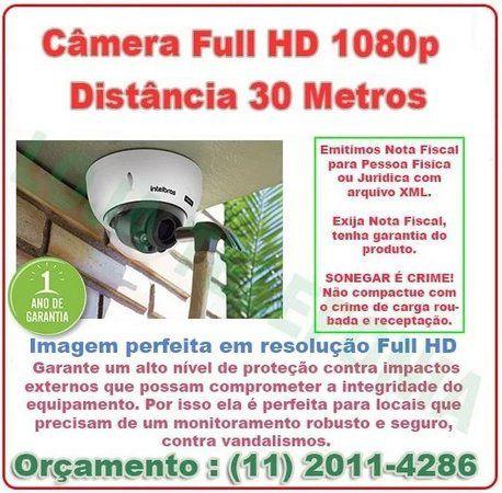 Instalação de Câmera de Segurança - Intelbras Full Hd 30 metros