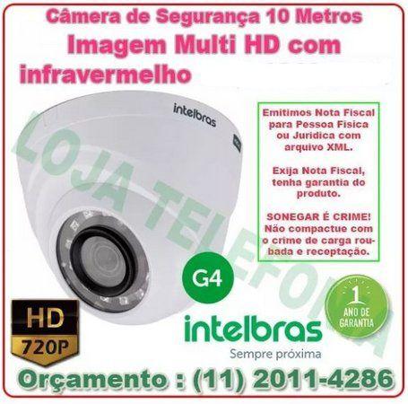 Instalação de Câmera de Segurança - Intelbras Multi-HD 10 metros