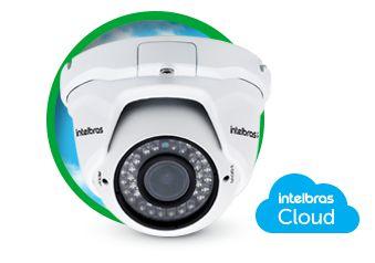 Câmera de Segurança Intelbras Dome IP 30 metros
