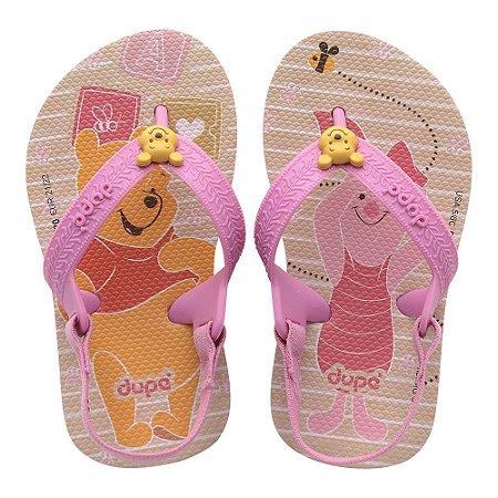 Dupé Disney Pooh Baby Rosa