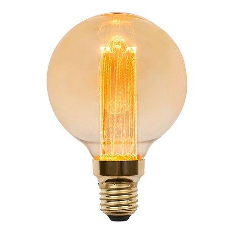 Lâmpada Bulbo LED Vintage Nordecor G95 Guide 3W 2.000K E27 Bivolt