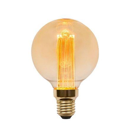 Lâmpada Bulbo LED Vintage Nordecor G80 Guide 3W 2.000K E27 Bivolt