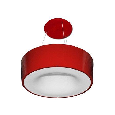 Pendente Sushi Forma da Luz Vermelho